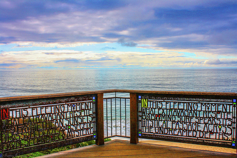 The Romance Of Laguna Beach Photograph