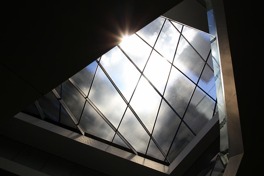 Architecture Photograph - The Roof Window by Siene Browne