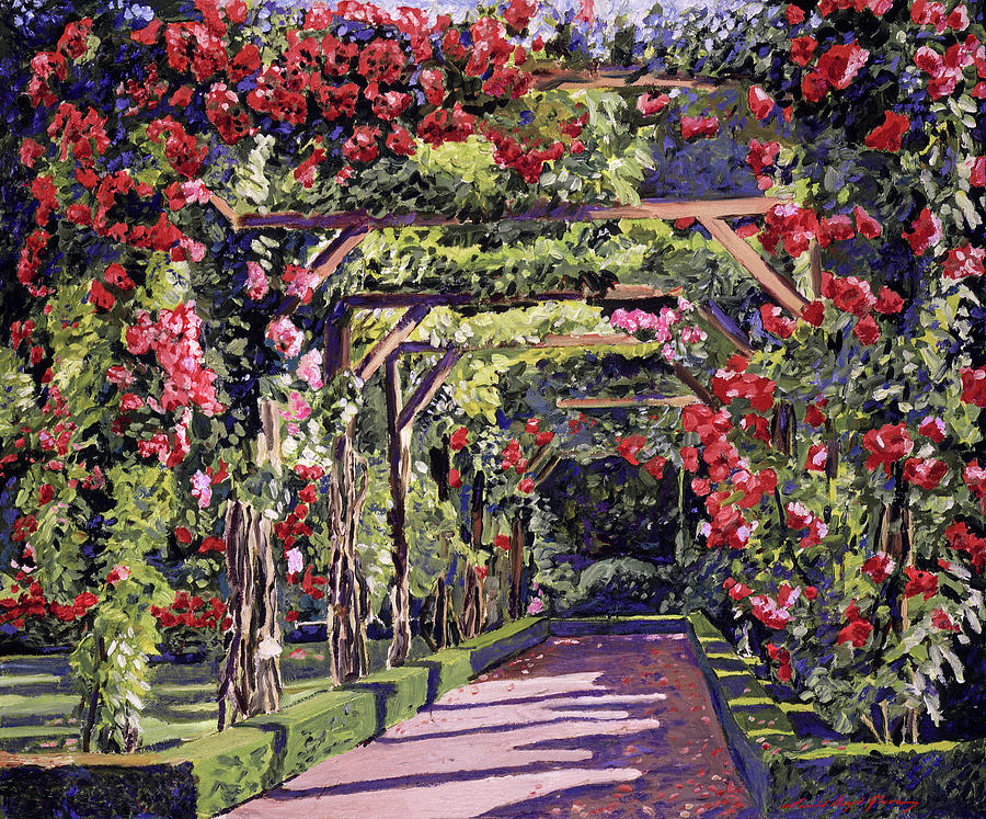 The Rose Alley Painting