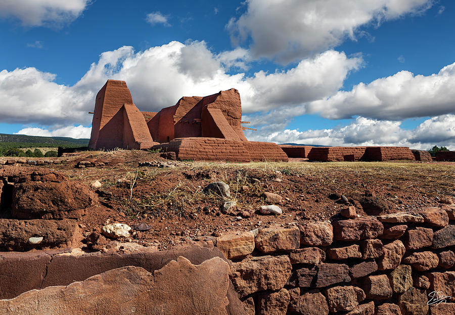 The Ruin Of The Pecos Church by Endre Balogh