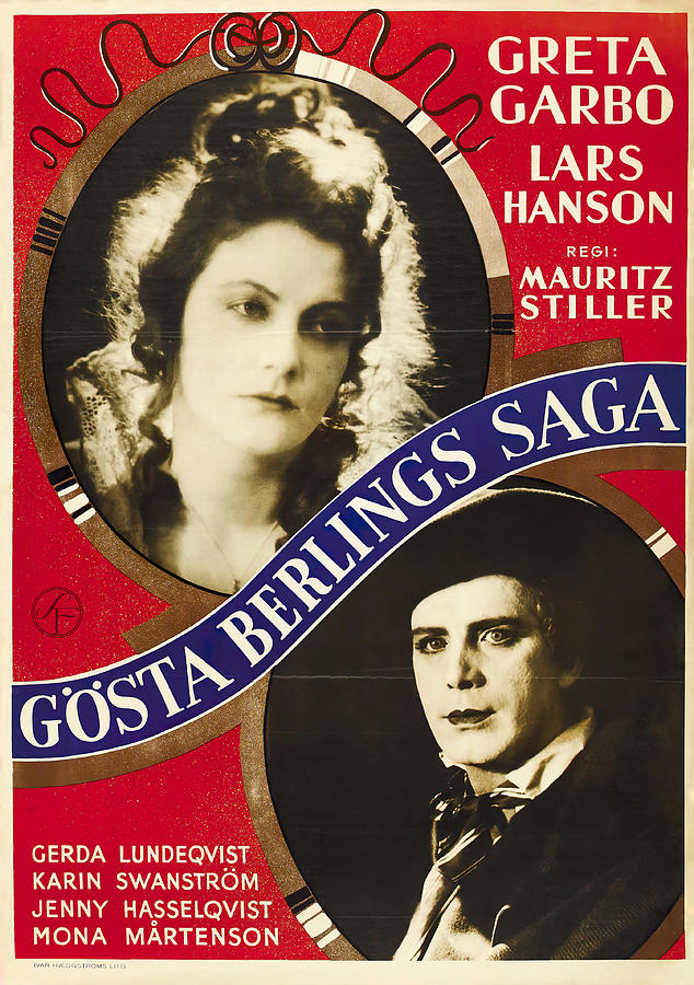 the Saga Of Gosta Berling With Greta Garbo And Lars Hanson, 1924 Mixed Media