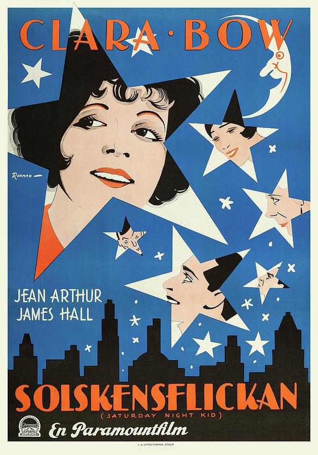 the Satuday Night Kid 2 - 1929 Mixed Media