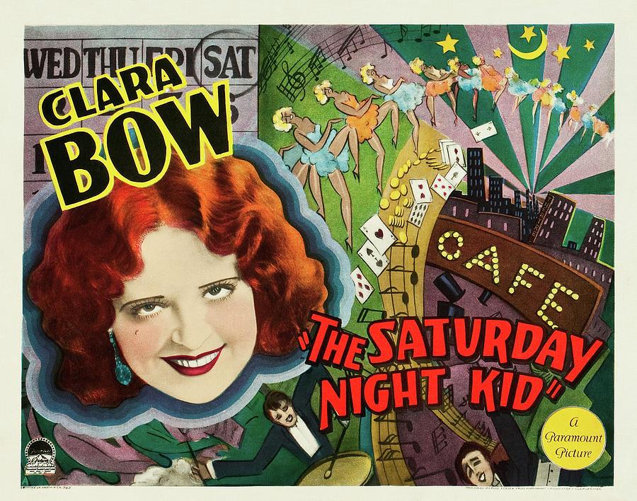 the Saturday Night Kid - 1929 Mixed Media