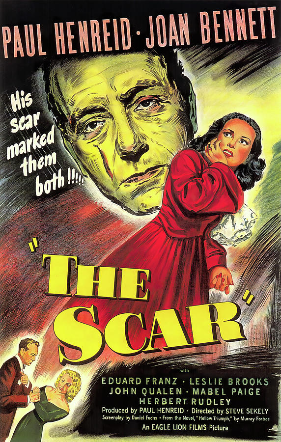 the Scar With Paul Enried And Joan Bennett, 1948 Mixed Media