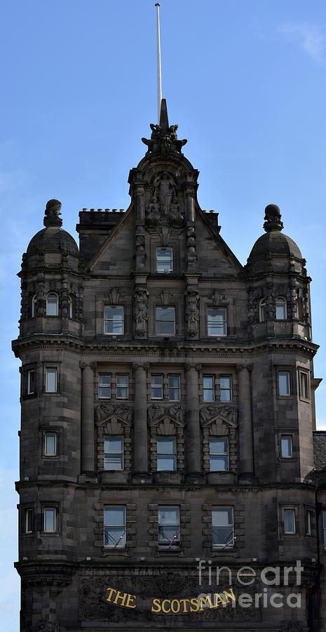 The Scotsman Building, North Bridge, Edinburgh by Yvonne Johnstone