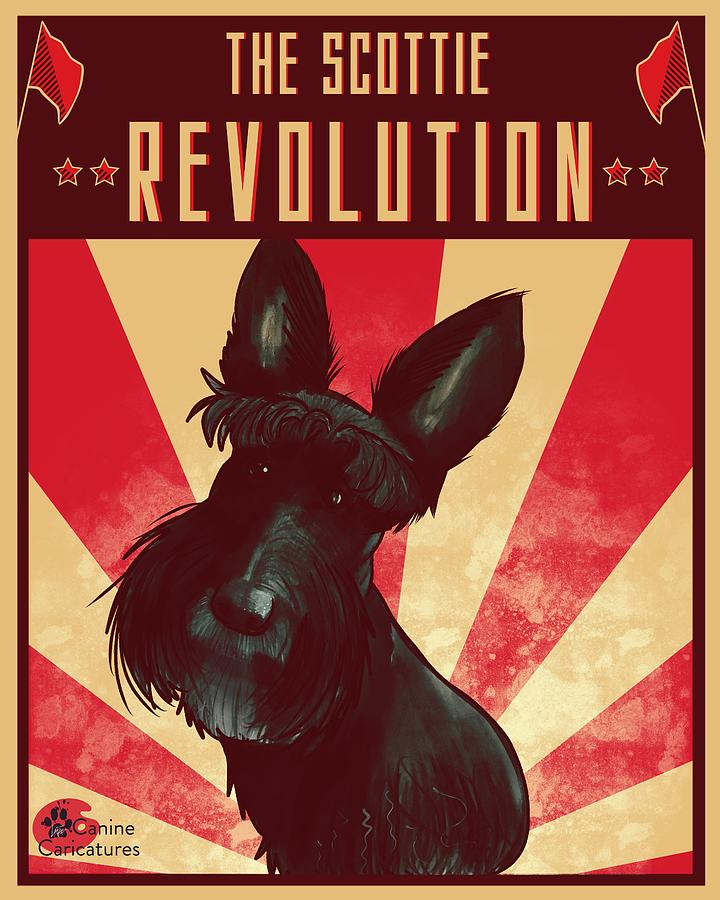 The Scottie Revolution Drawing