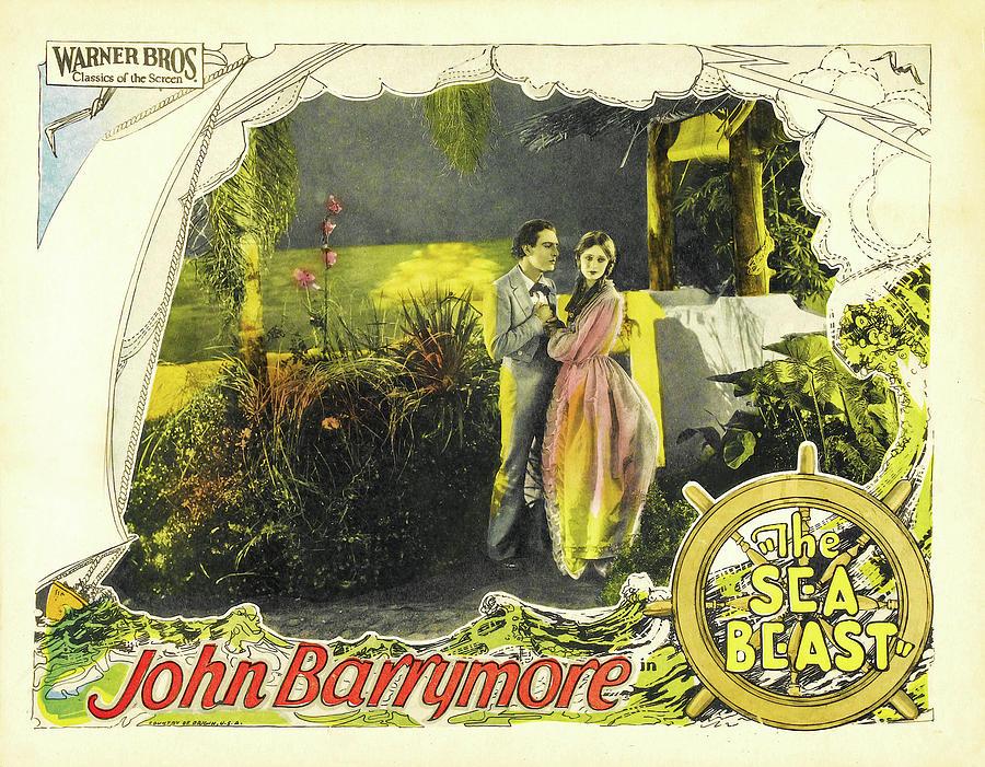 the Sea Beast - 1926 Mixed Media