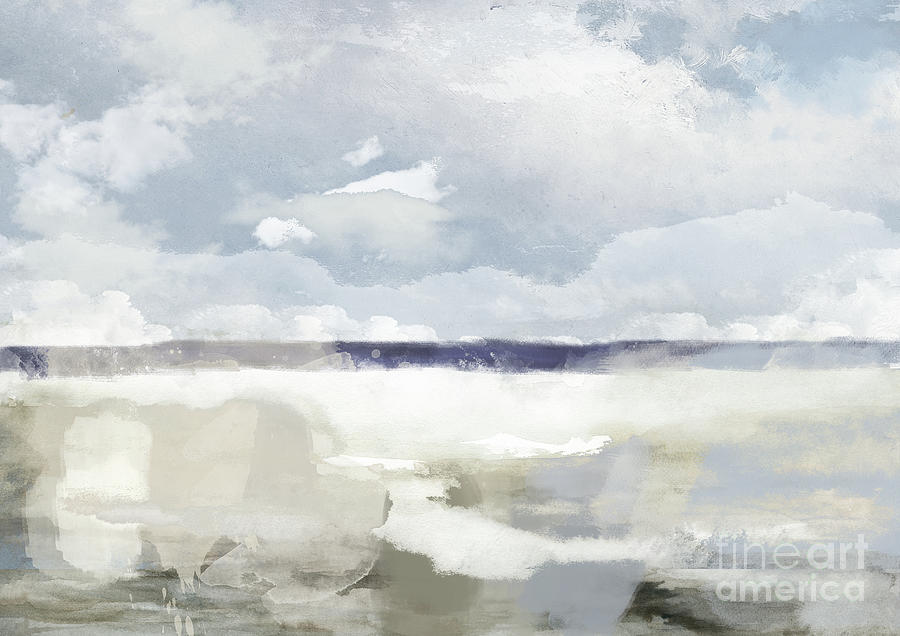 The Sea, The Sky Painting