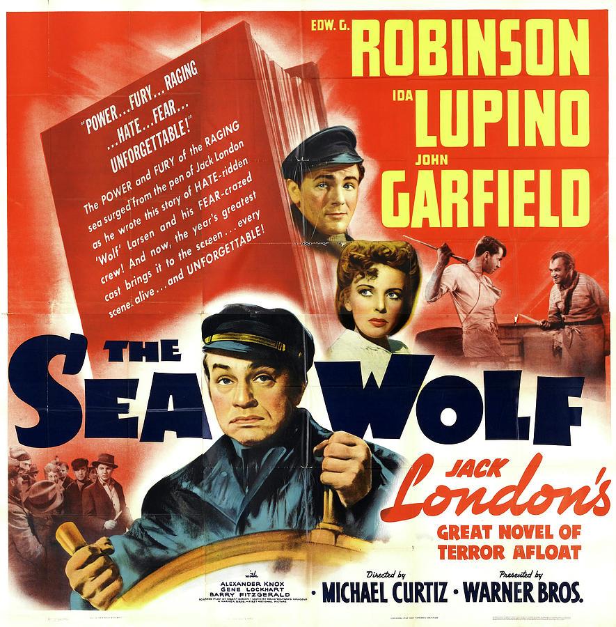 the Sea Wolf - 1941 Mixed Media