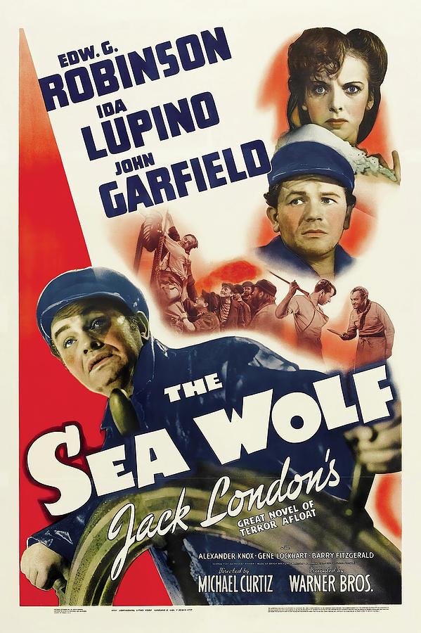 the Sea Wolf, With Edward G. Robinson And Ida Lupino, 1941 Mixed Media