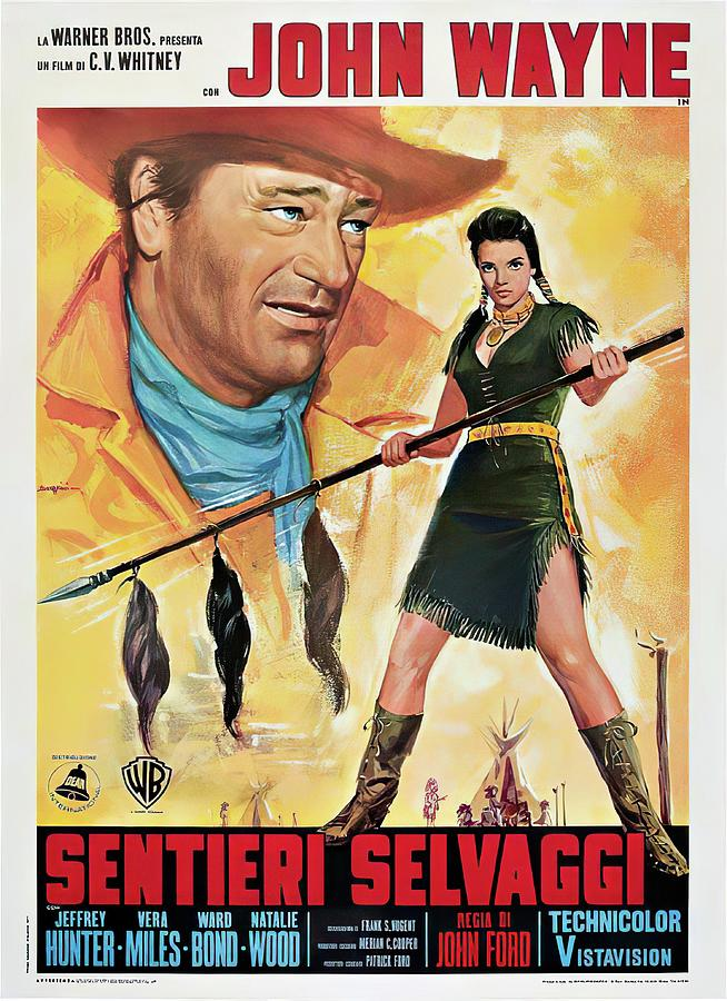 the Searchers, 1956 - B Mixed Media