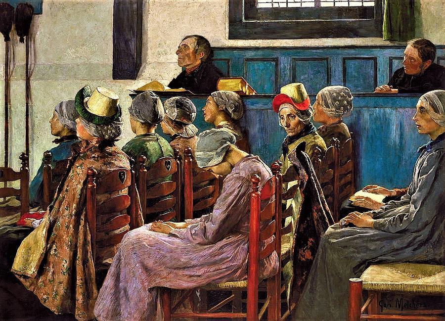 The Sermon Painting
