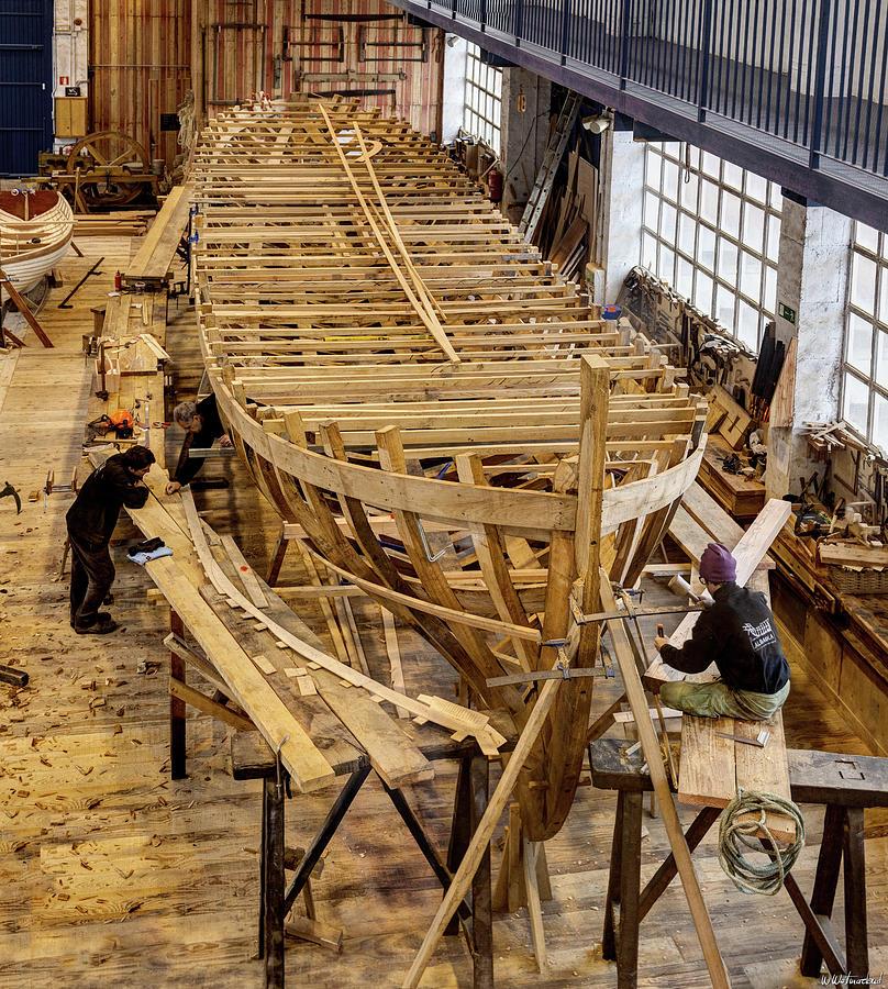 The Shipwright by Weston Westmoreland