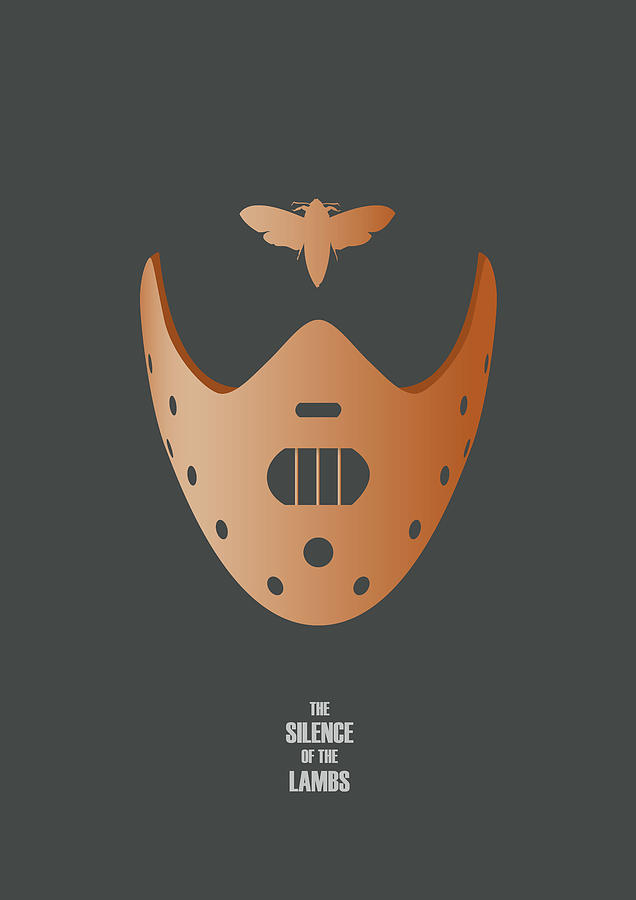 The Silence Of The Lambs Digital Art - The Silence of the Lambs - Alternative Movie Poster by Movie Poster Boy