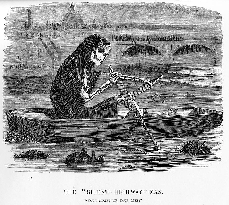 The silent highway man Drawing by Duncan1890