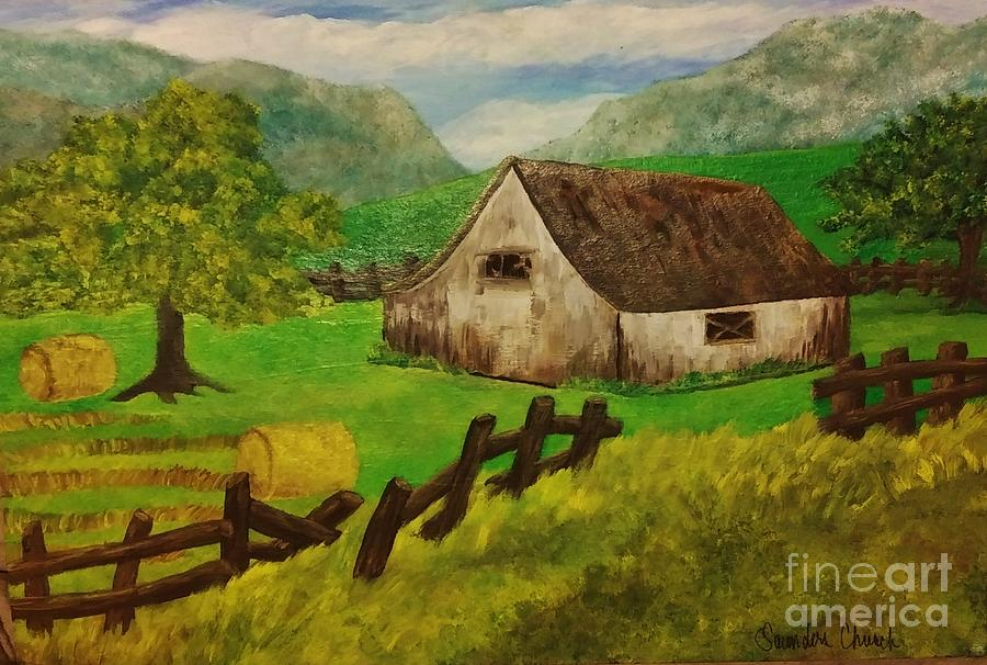The Simple Life Painting
