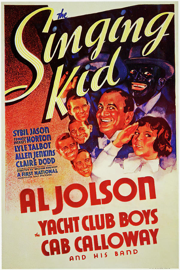 the Singing Kid, With Al Jolson, 1936 Mixed Media