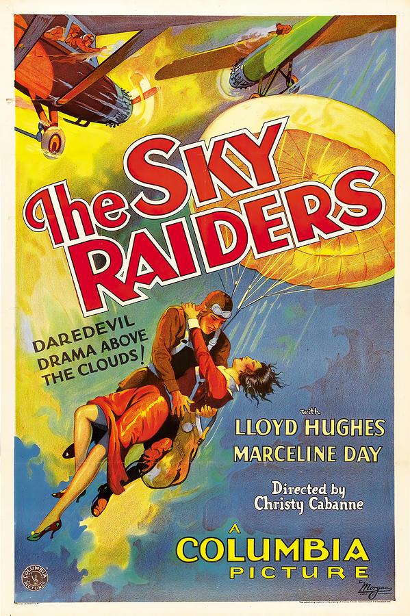 the Sky Raiders, 1931 Mixed Media