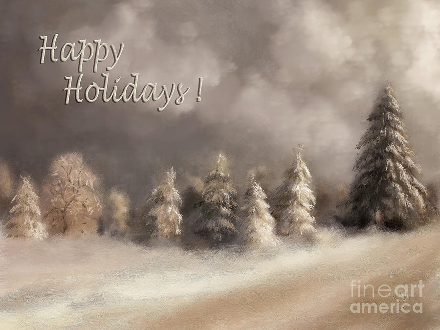 The Snowy Road Happy Holidays Version by Lois Bryan