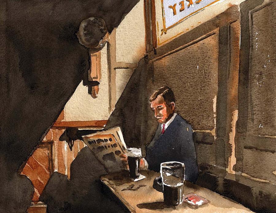 The Snug, in Every Dublin Pub. by Val Byrne