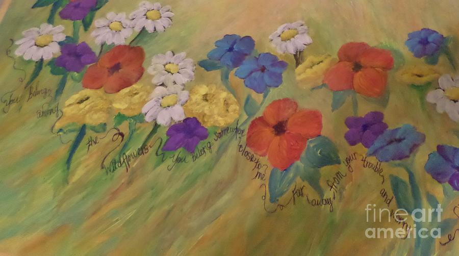 The Song For Wildflowers Painting