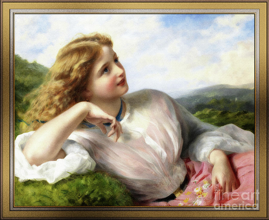 The Song Of The Lark by Sophie Gengembre Anderson by Xzendor7