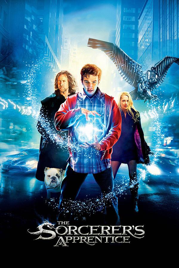 The Sorcerer S Apprentice 2010 Digital Art By Geek N Rock