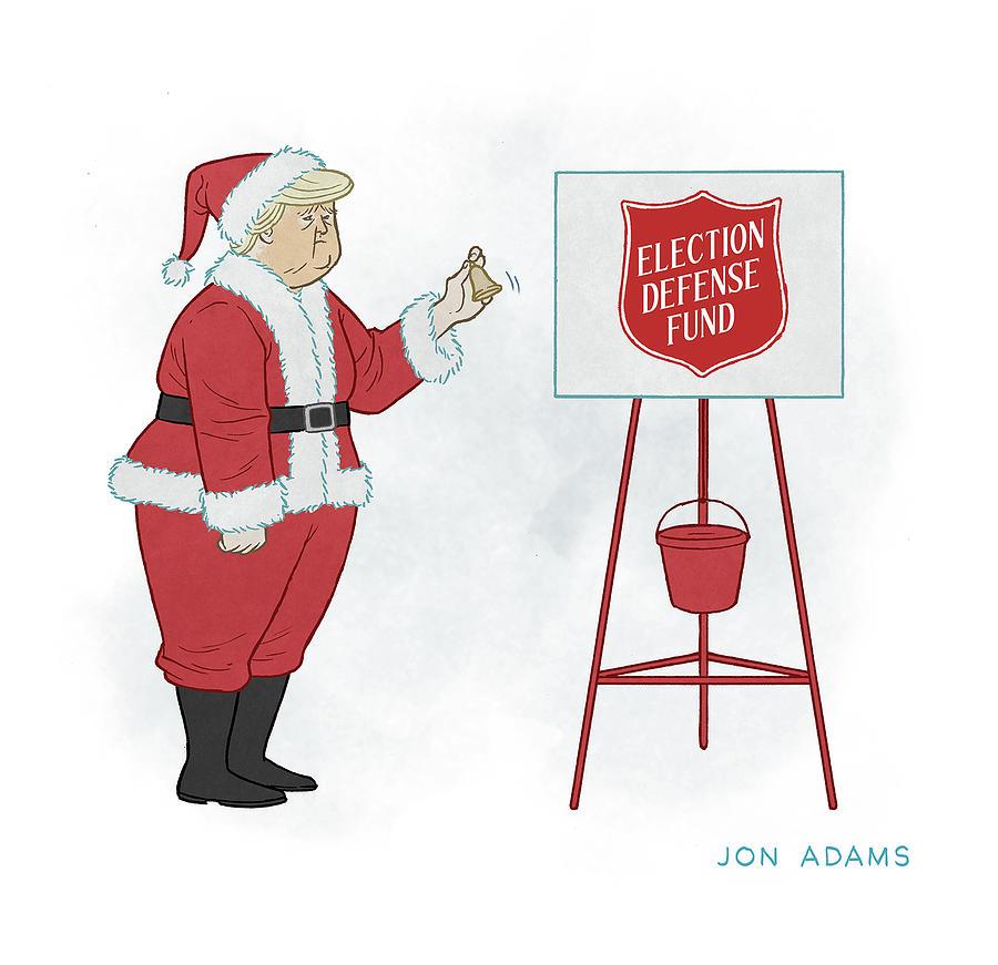 The Sound of the Season Drawing by Jon Adams