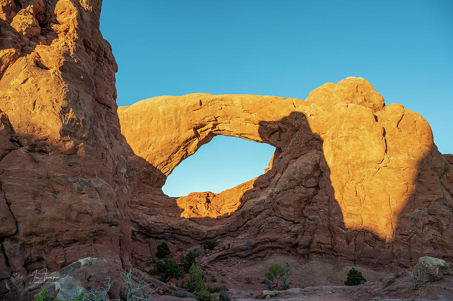 Arches National Park Photograph - The South Window by Jim Thompson
