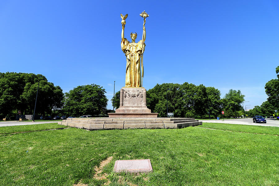 The Statue Of The Republic Photograph