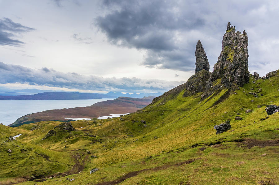 Highlands Photograph - The Storr, Isle of Skye by Paul Cullen