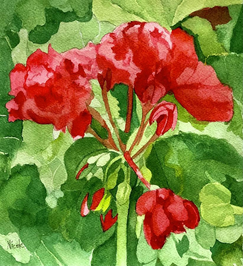 The Summer Flower Painting