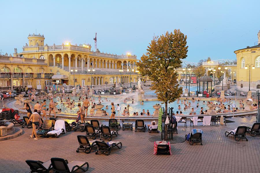 The Szechenyi Medicinal Bath 1 Photograph