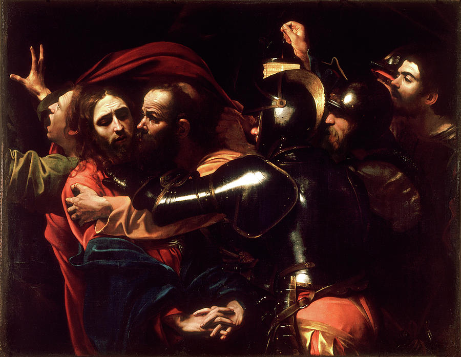 The Taking of Christ  by Michelangelo Merisi da Caravaggio
