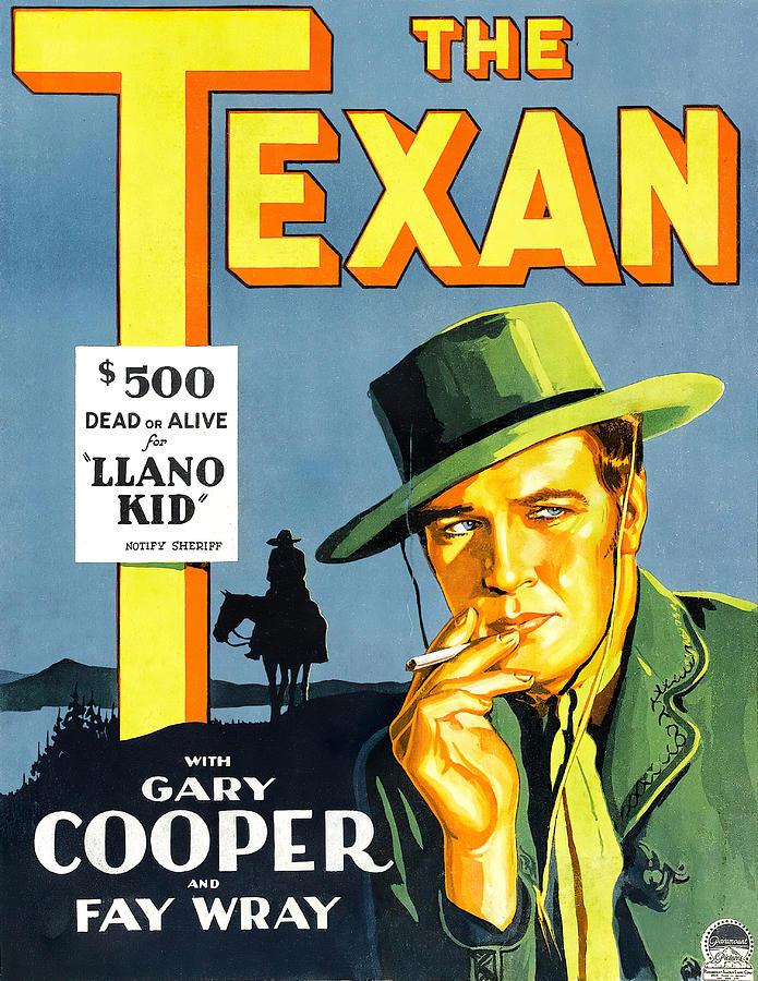 the Texan, 1930 Mixed Media