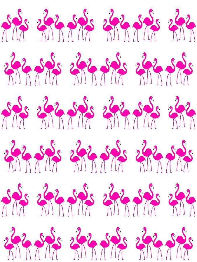 The Three Flamingos by Kathleen Sartoris