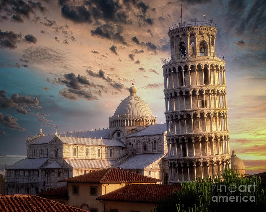 The Tower Of Pisa by Edmund Nagele