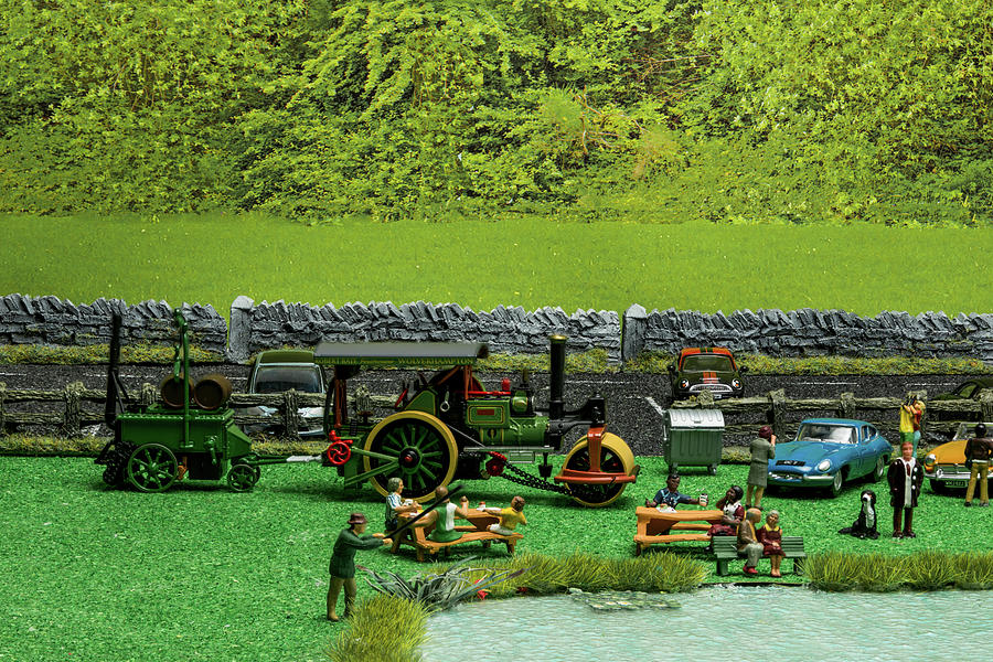 The Traction Engine Photograph
