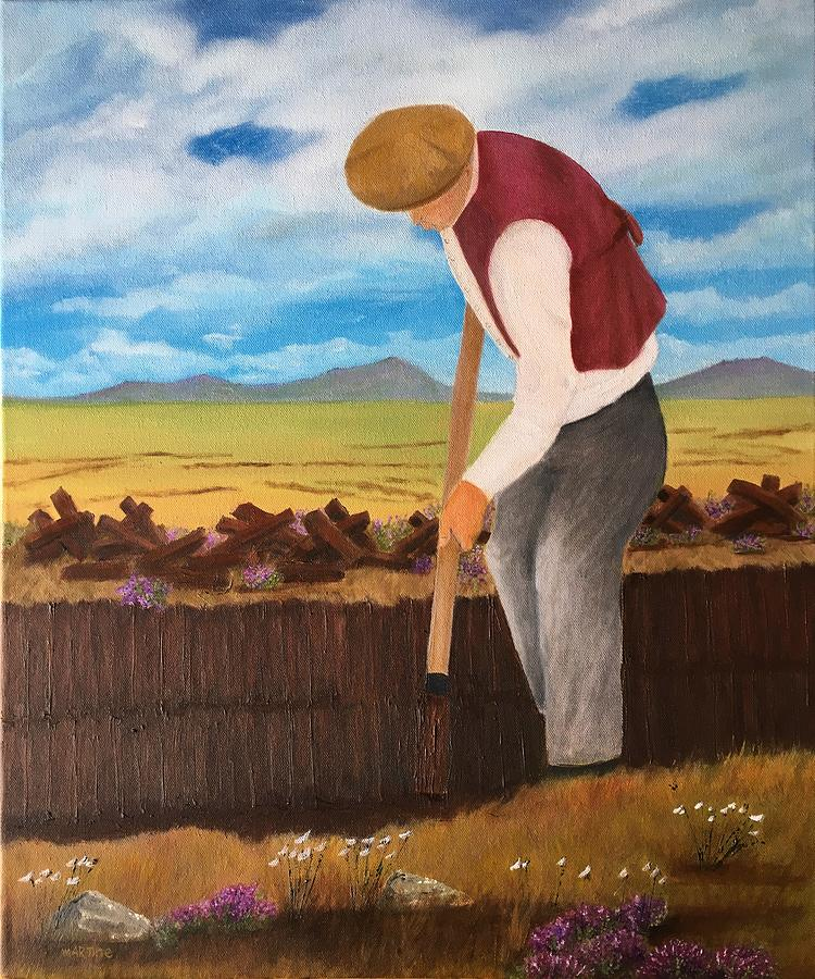 The Turf Cutter Painting