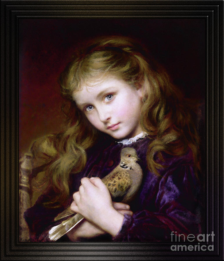 The Turtle Dove by Sophie Gengembre Anderson by Xzendor7
