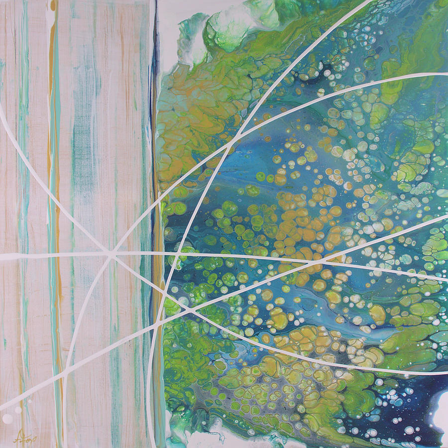Abstract Painting - The Unexpected by Allison Fox
