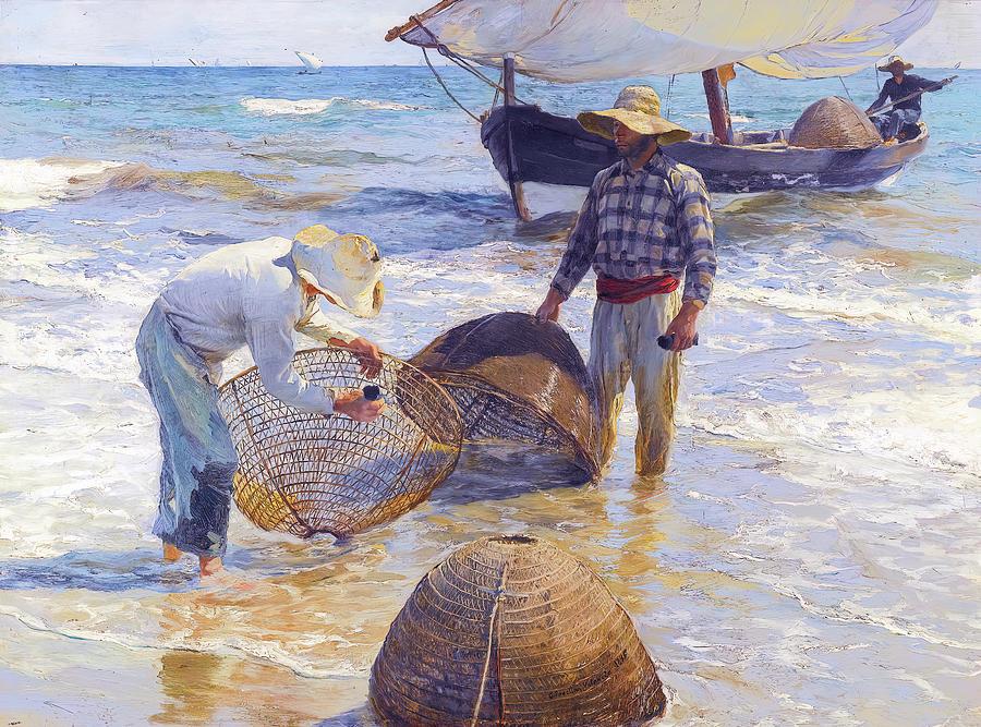 The Valencian Fishermen Painting