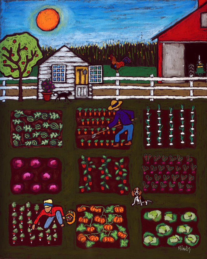 The Vegetable Patch Painting