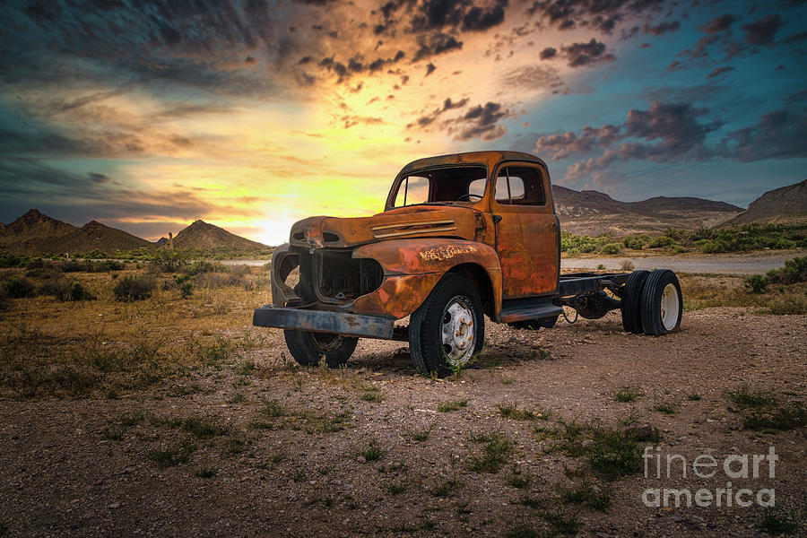 The Vintage Truck by Hugh Walker