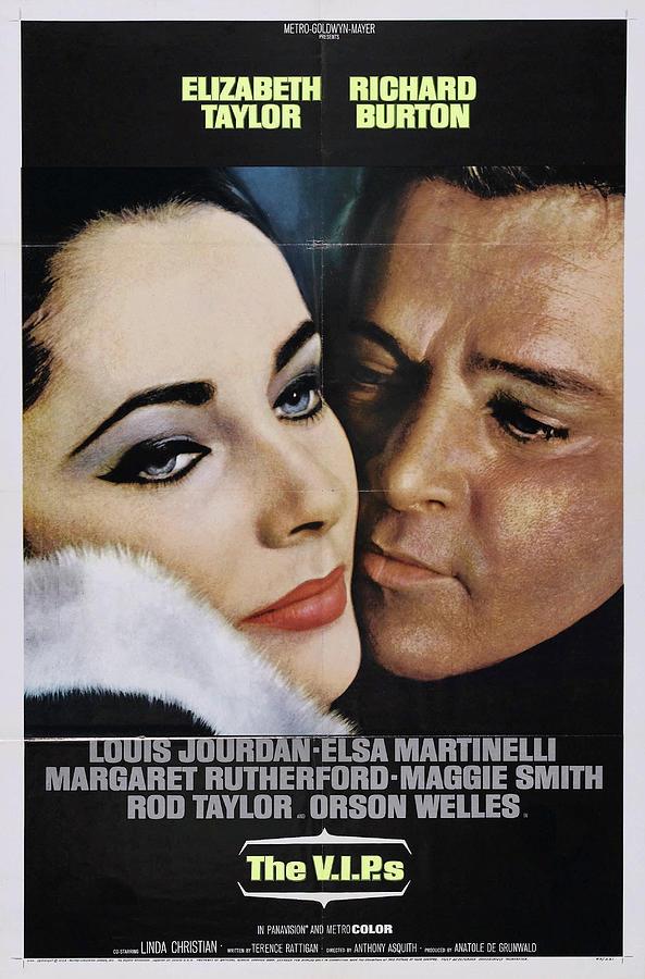 the V.i.p.s, With Elizabeth Taylor And Richard Burton, 1963 Mixed Media