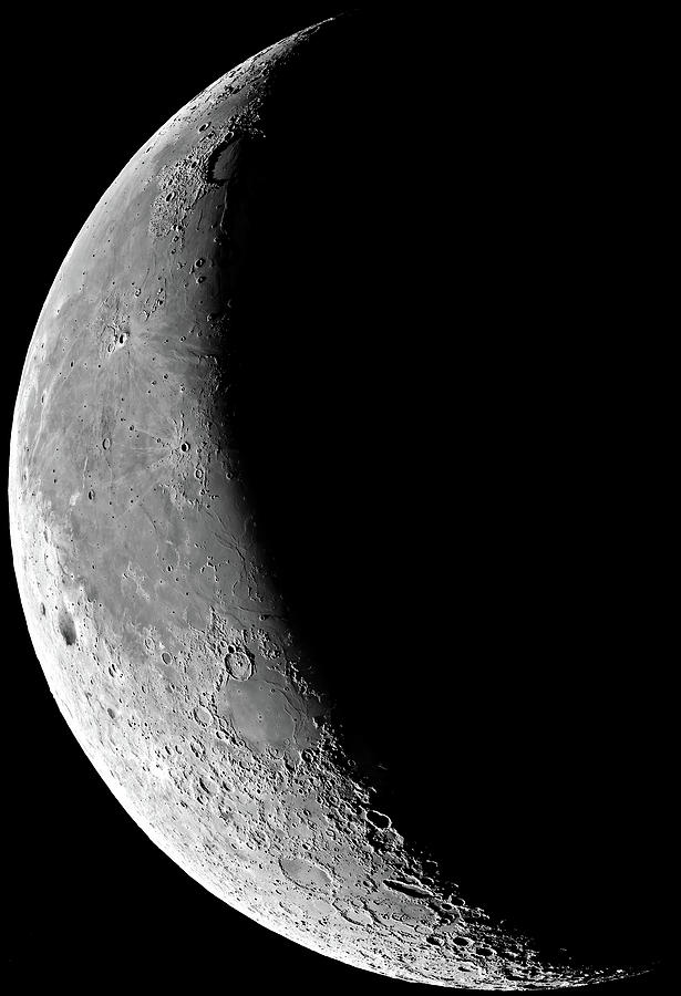 The Waning Moon Photograph