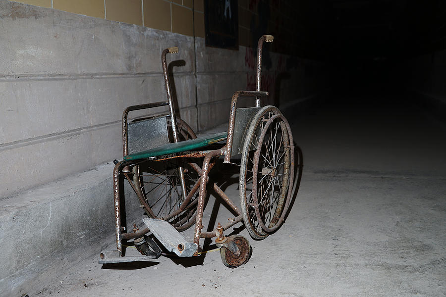 The Wheelchair by Richard Reeve