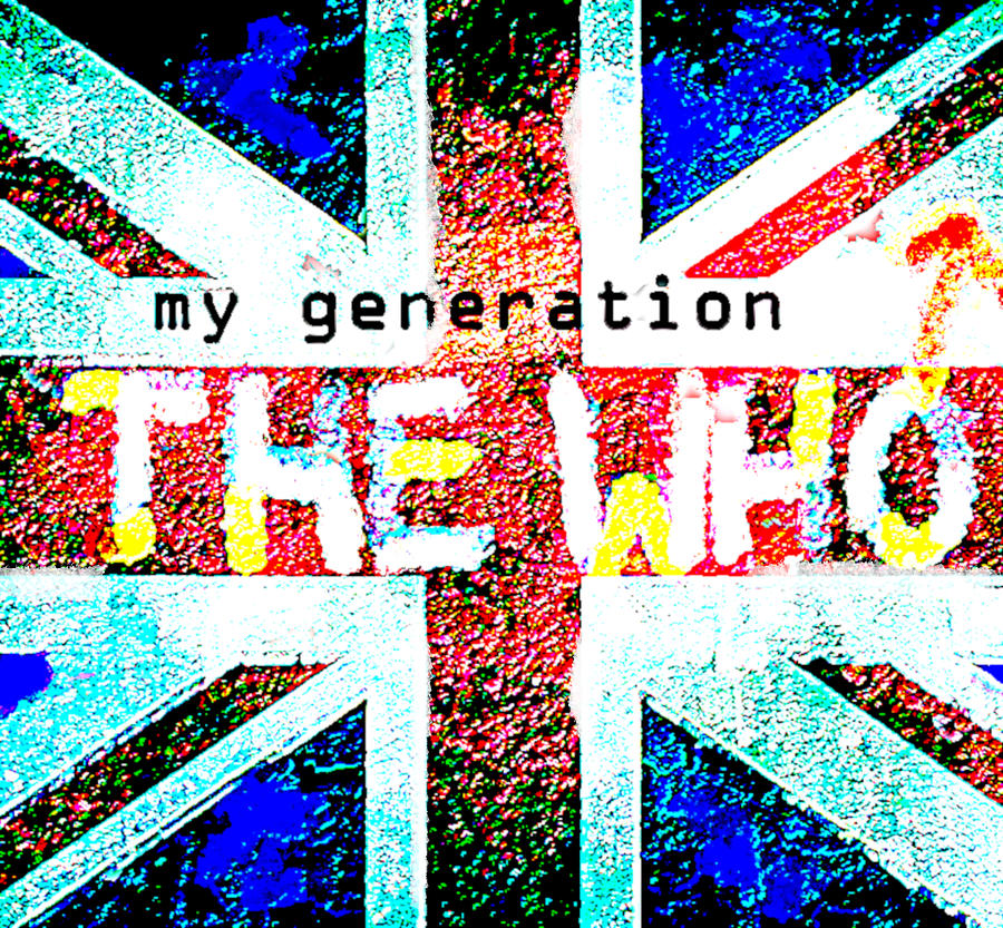 The Who My Generation 1965 by Enki Art
