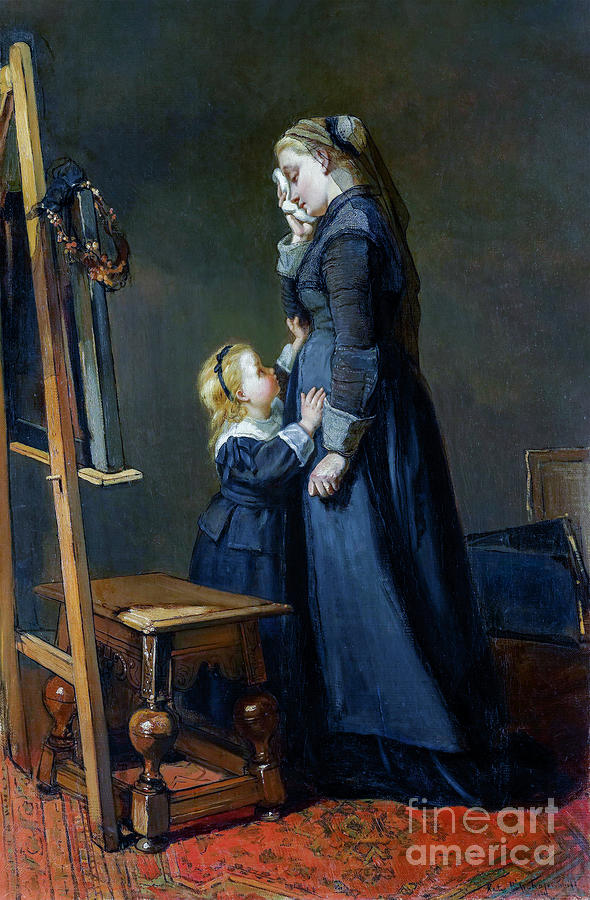 The Widow Of A Painter Painting