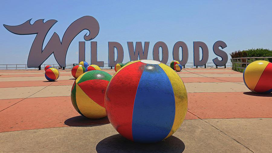 The Wildwoods Sign 2 Photograph